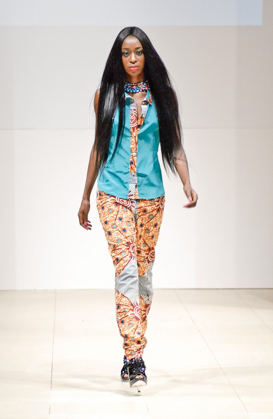 Mesanga fashion house at africa fashion week in new york afwny 2012