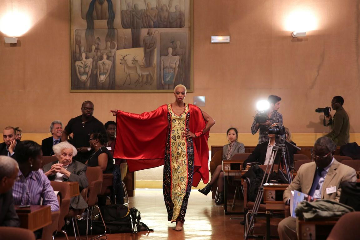 ALPHADI FIMA PRESS CONFERENCE AT UNESCO, PHOTO COURTESY OF UNITED FASHION FOR PEACE COPYRIGHT GABRIELLE BIRNHOLZ 9W5A0928 (Copier)