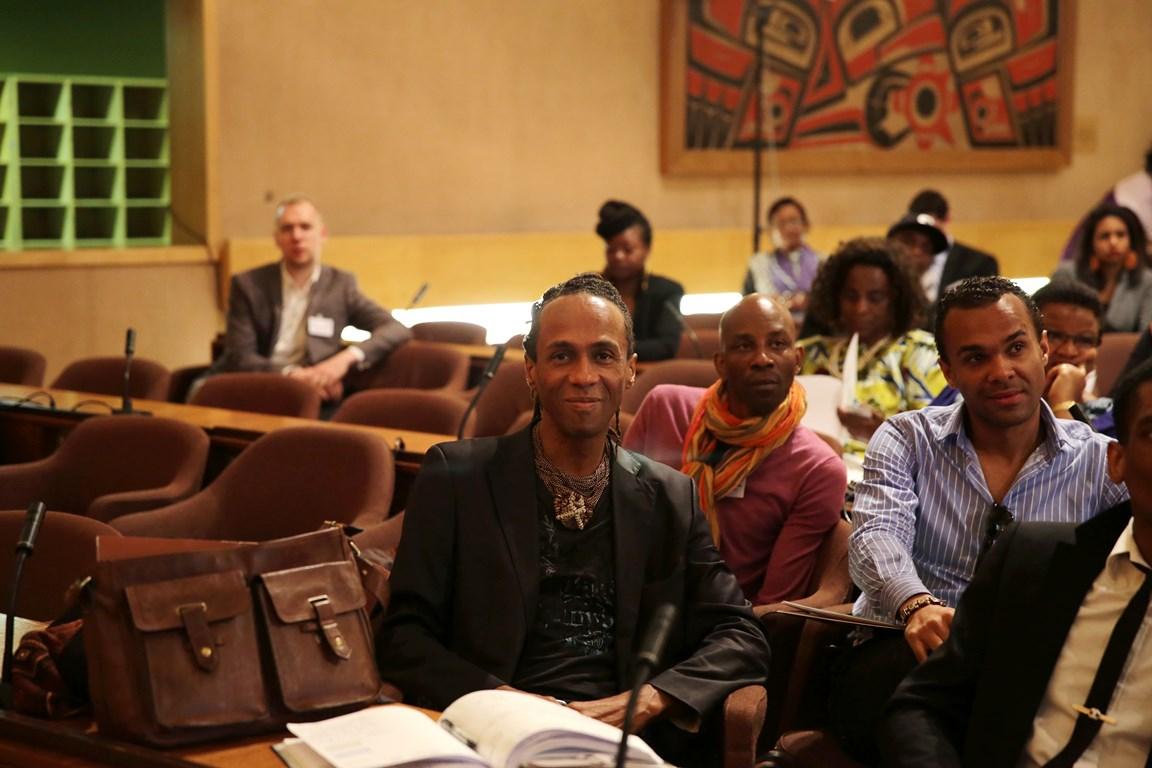 MICKAEL KRA FIMA PRESS CONFERENCE AT UNESCO, PHOTO COURTESY OF UNITED FASHION FOR PEACE COPYRIGHT GABRIELLE BIRNHOLZ 9W5A0839 (Copier)