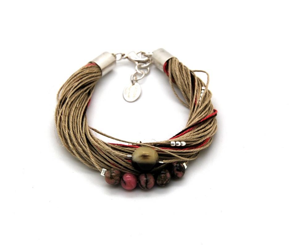 Bracelet Taha Rhodonite