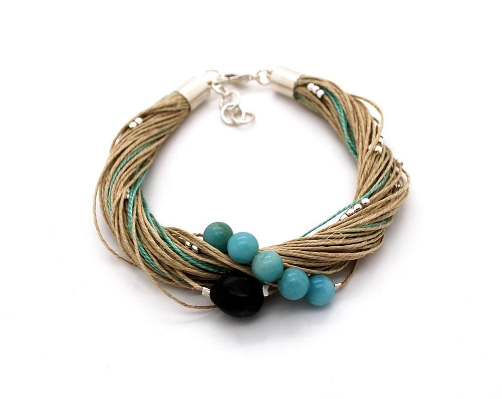 Bracelet Taha amazonite