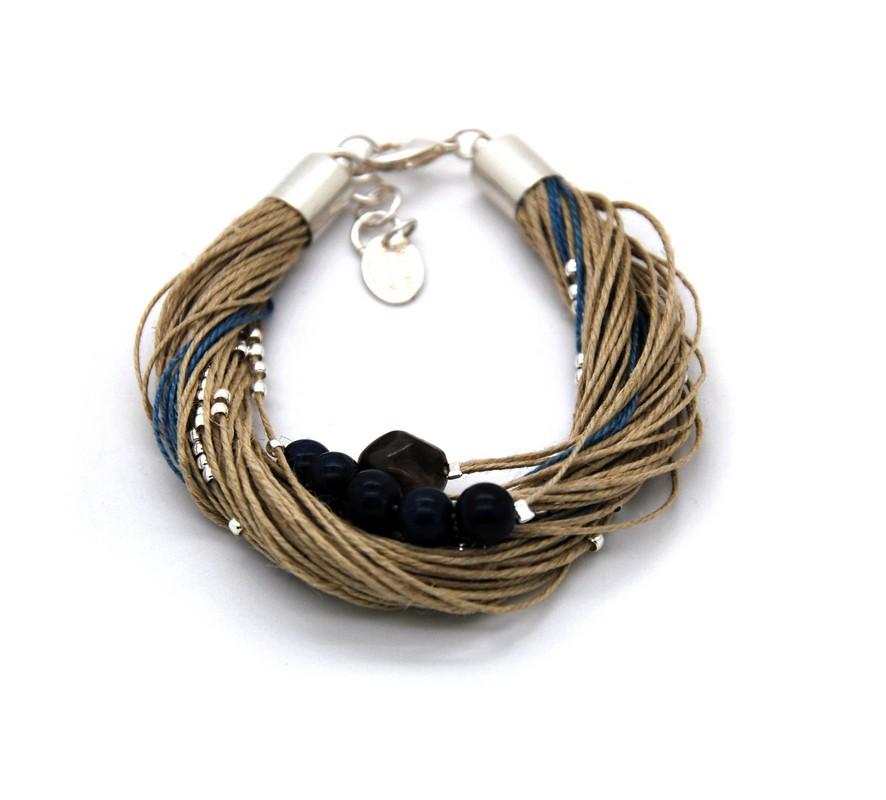 Bracelet Taha lapis lazuli
