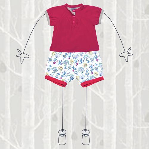 2 Stylisé - blouse + bloomer