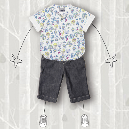 3 Stylisé - chemise MC + denim