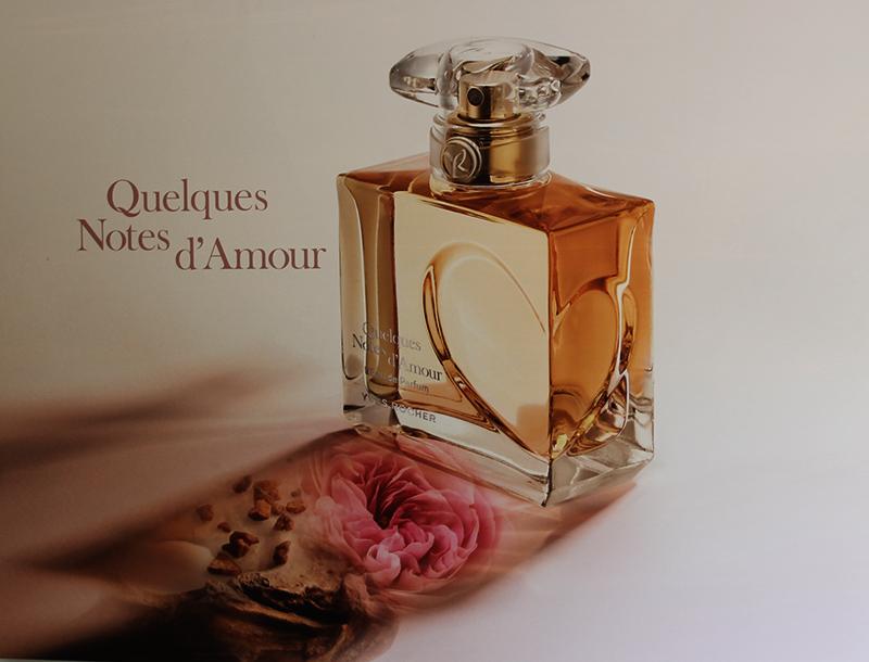 Quelques Notes Damour Le Nouveau Parfum Yves Rocher Pour La