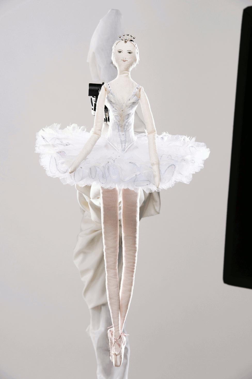 Frimousse des ateliers costumes de danse de LOpera de Paris