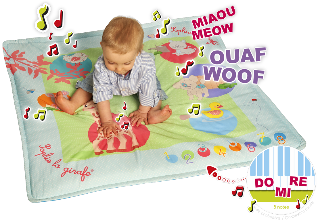 Touch and Play mat Sophie (Copier)