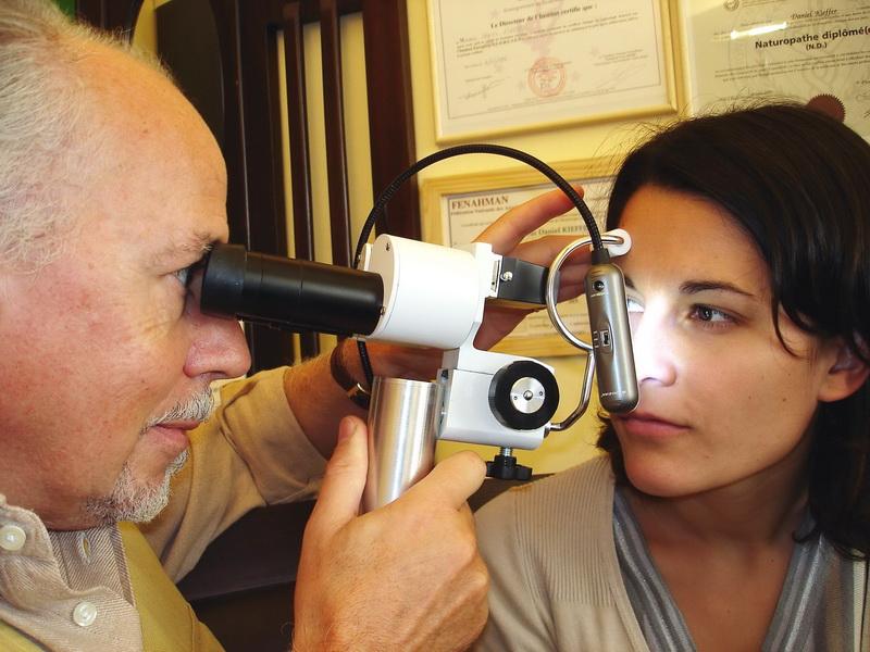 Bilan iridologique