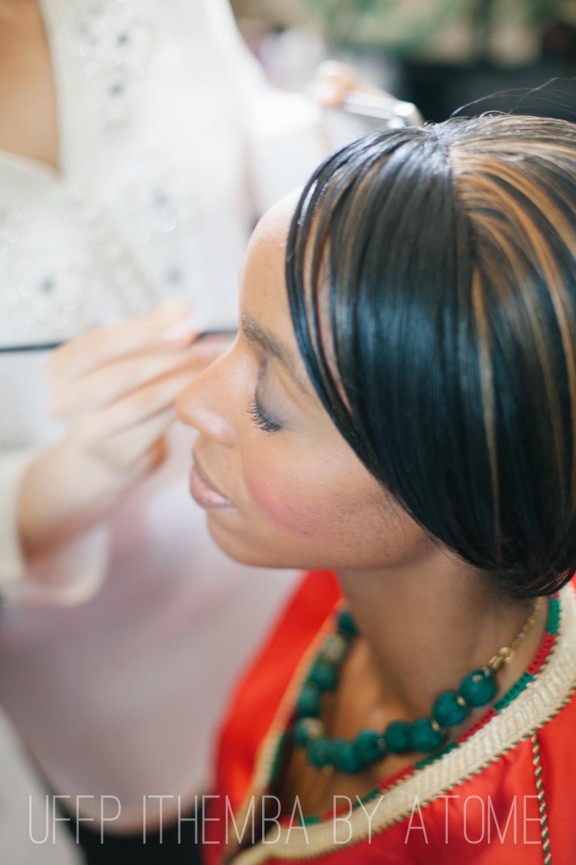 make up team UFFP à l'oeuvre