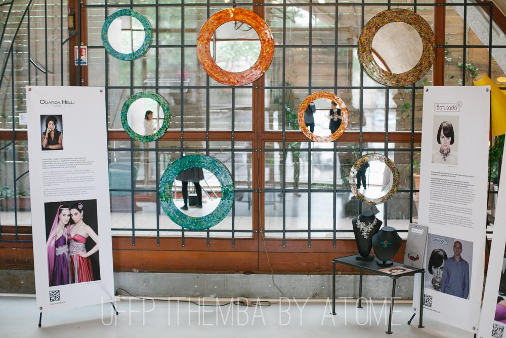 les magnifiques Kakémonos créa ITHEMBA pour les designers de la 3e édition de la Caravane merci  à nos partenaires