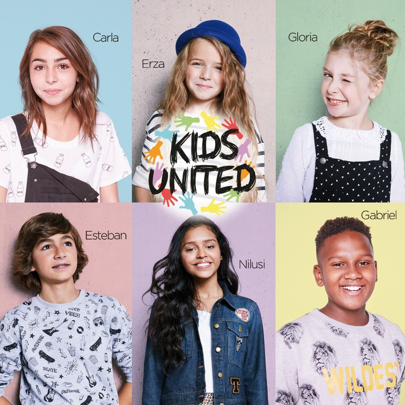 Cover album KIDS UNITED