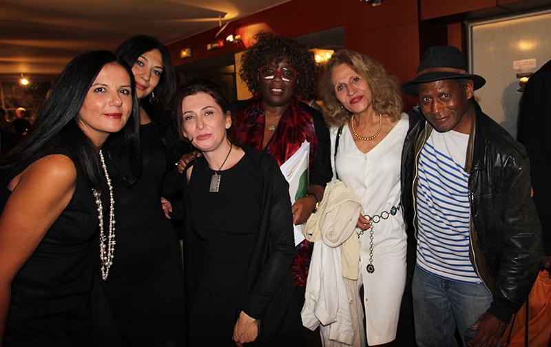 Soirée du Prix Senghor au Centre Wallonie Bruxelles dans le cadre du Salon la Plume Noire le 30 sept photo Diane Cazelles pour UFFP
