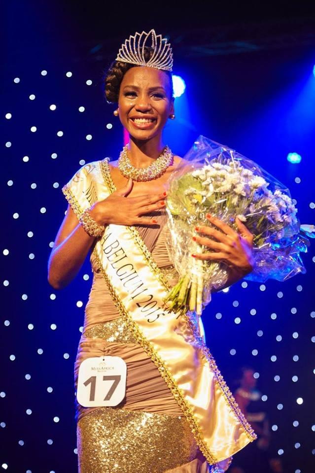 Gala Miss Africa Belgium du 3 octobre 2015