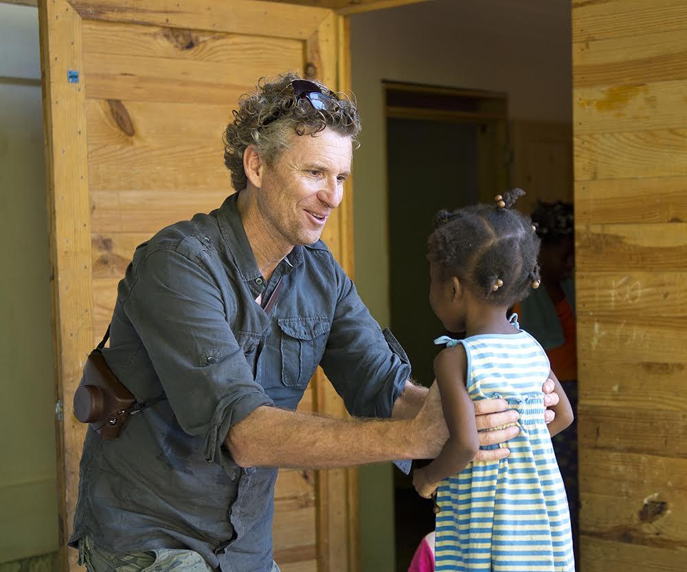 Visite de l'orphelinat coeur de la pitié