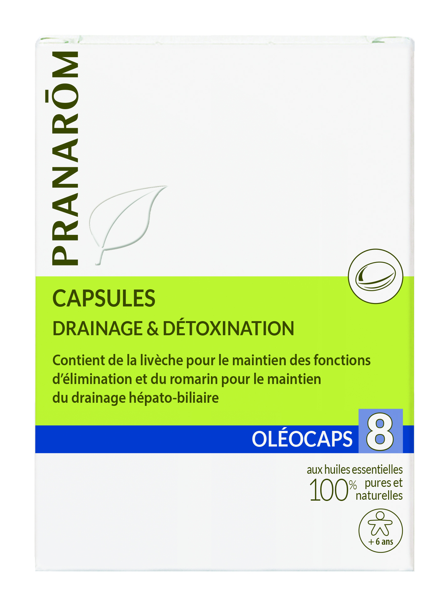 pranarom_Oleocaps8_Drainage & detoxination
