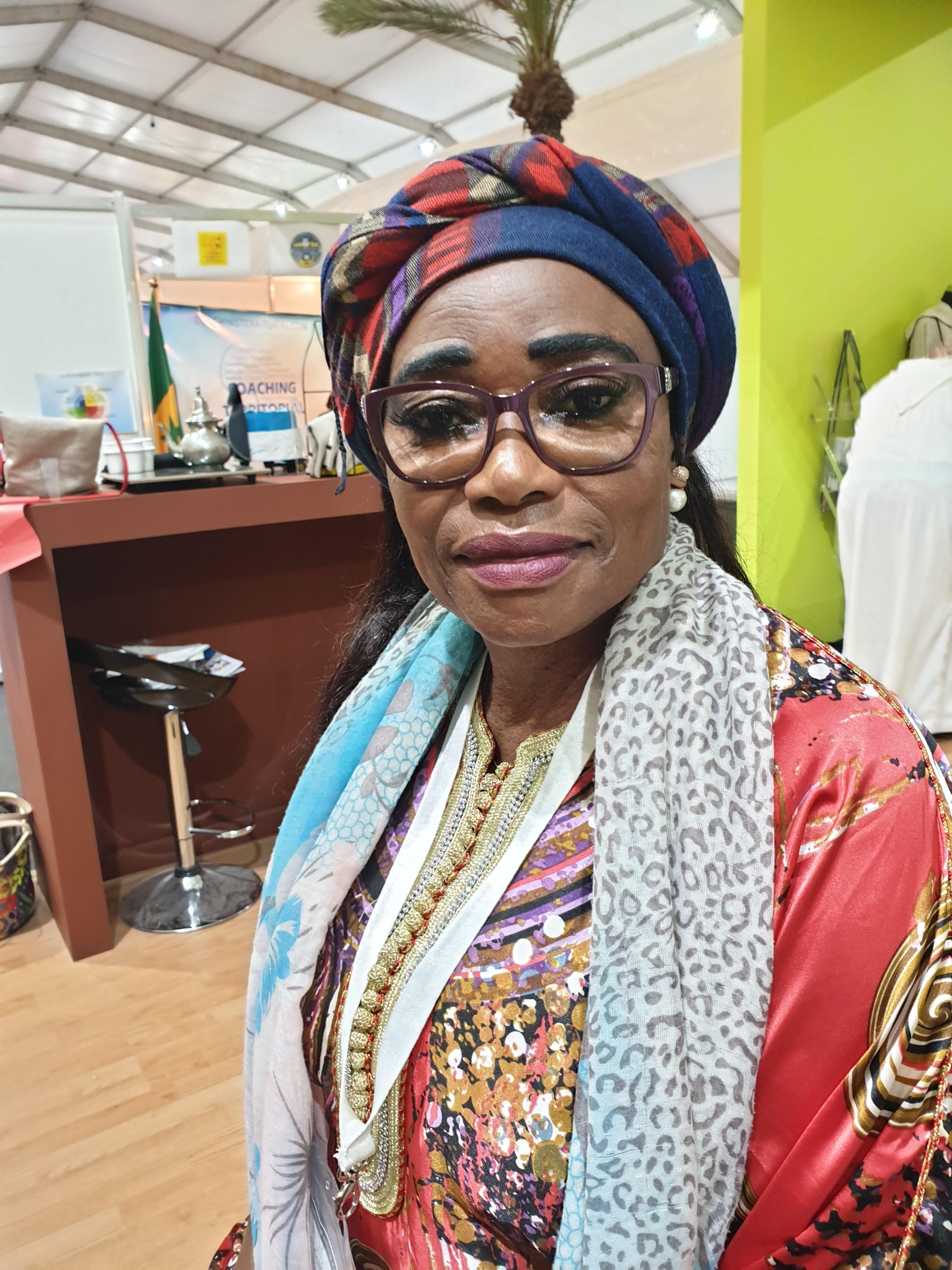 Lucile Ysabel Loembe conseillère élue locale au Congo membre du REFELA