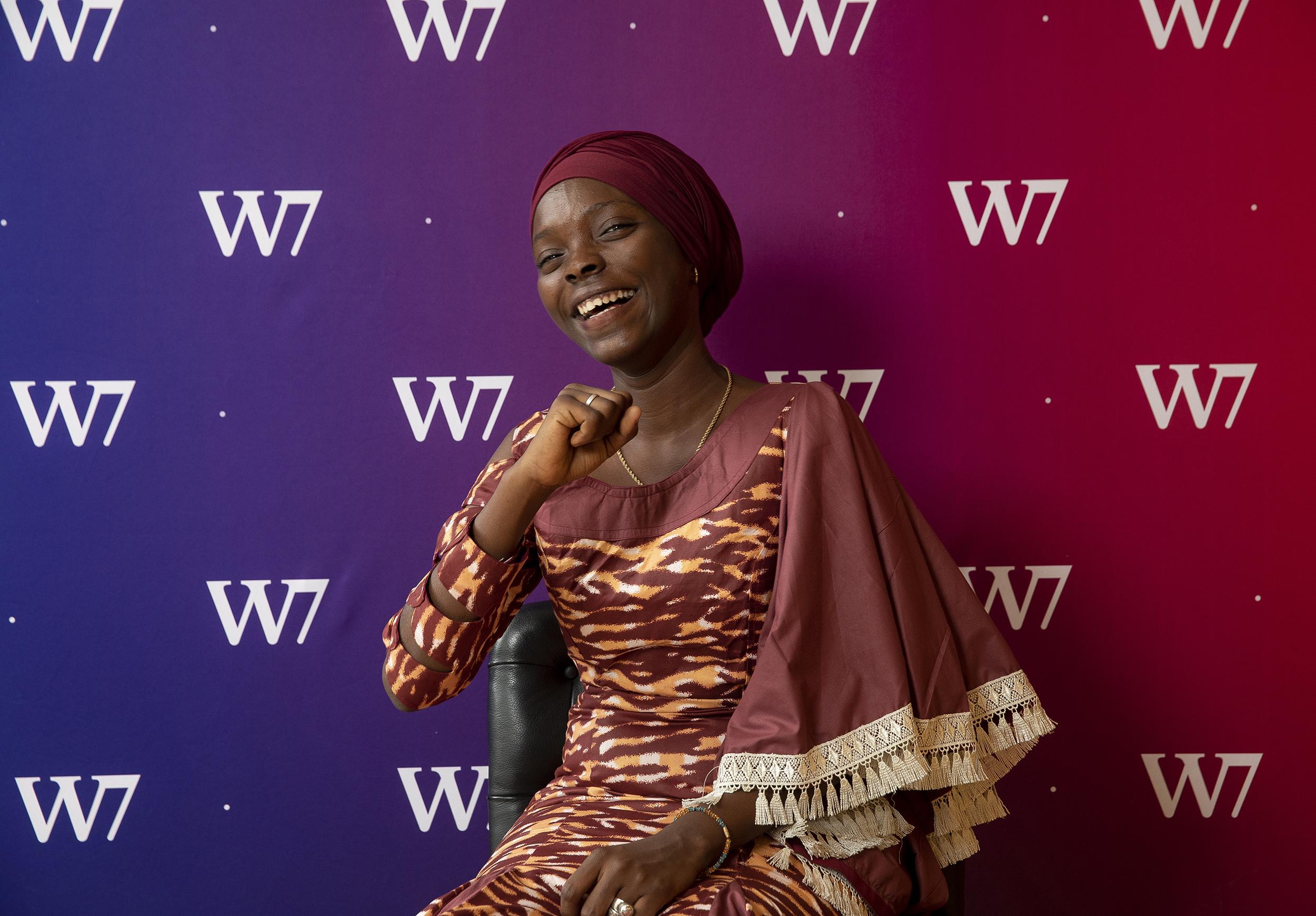 crédit Cyril Le Tourneur HADJA IDRISSA BAH, Club des Jeunes Filles Leaders de Guinée