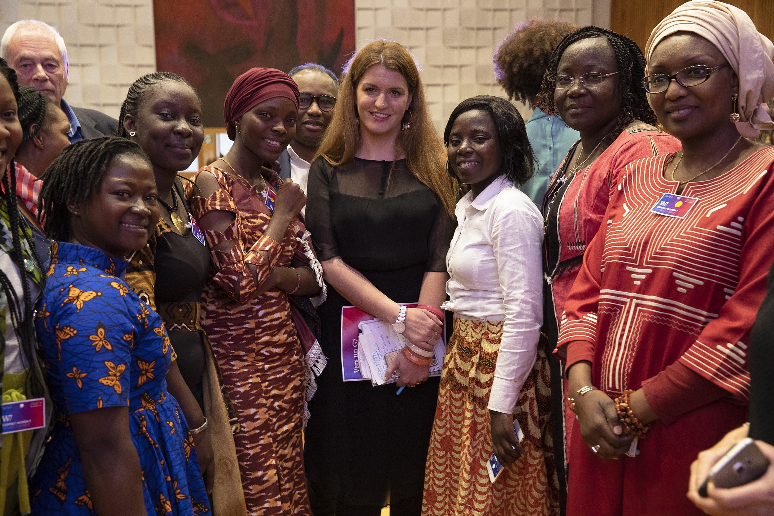 crédit photo Cyril Le Tourneur  Marlène Schiappa et les féministes