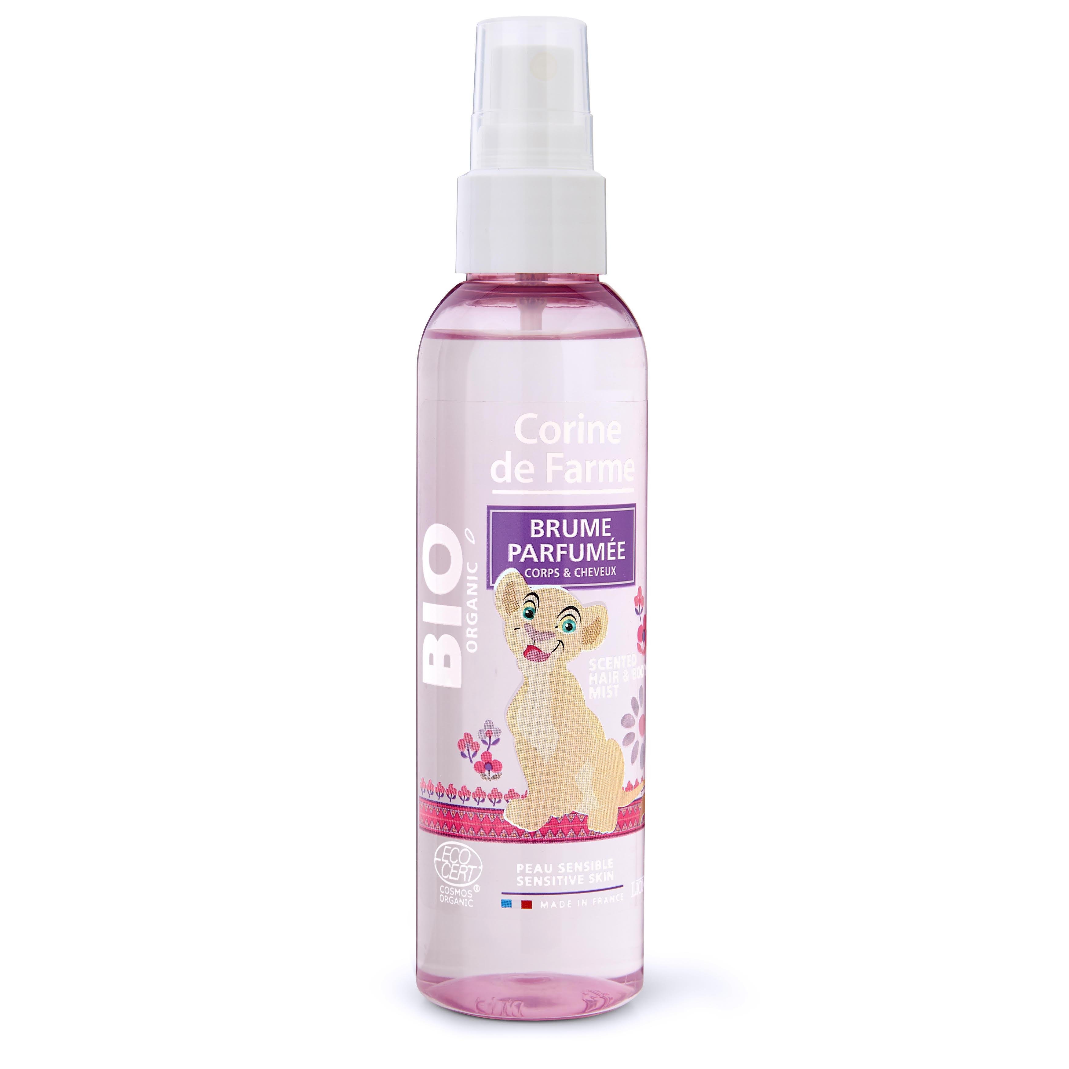 Brume Parfumée certifiée Bio Corps & Cheveux