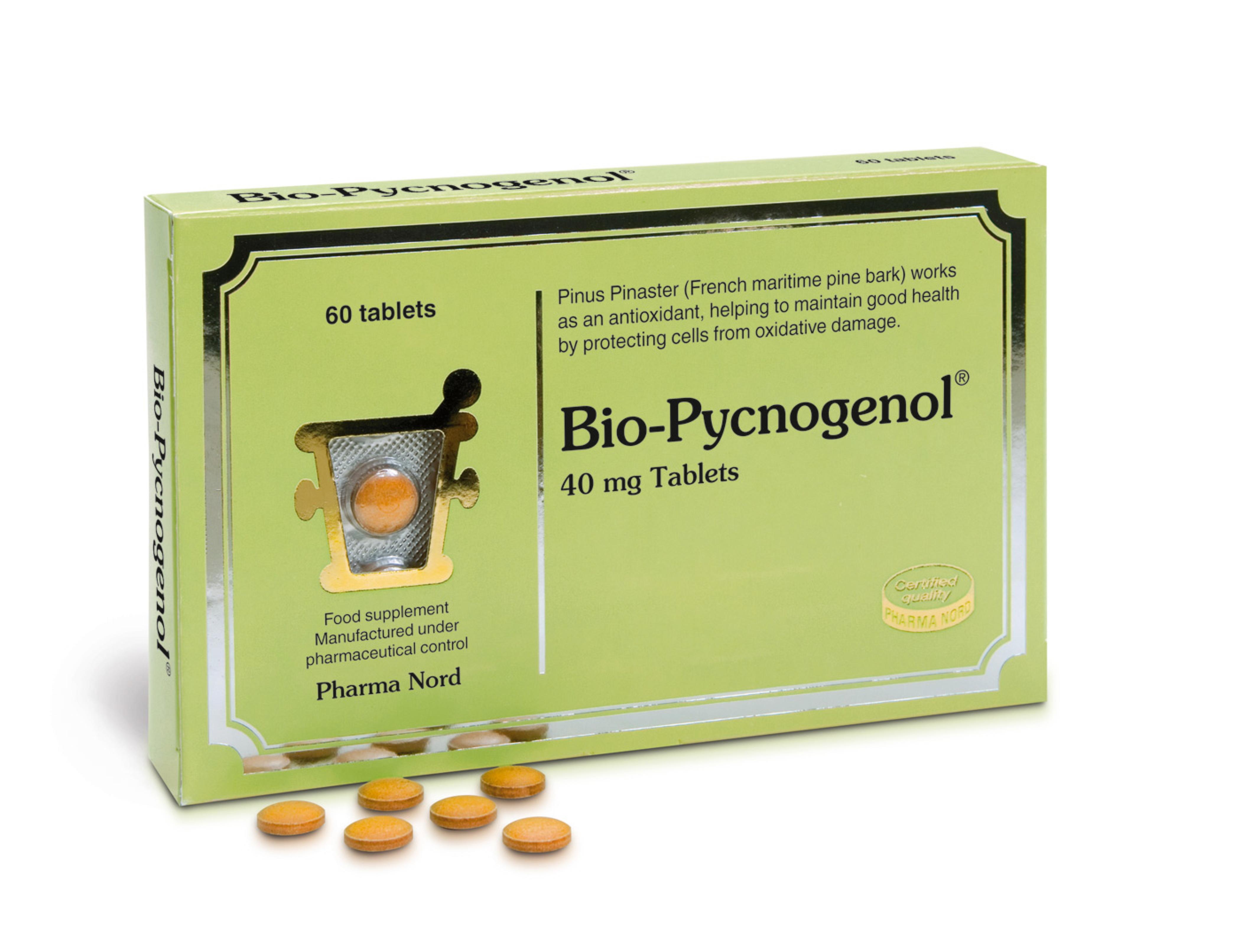 Pharma Nord BioPycnogenol 60 comprimés 33,95€ ©Pycnogénol (1)